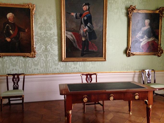 Frederik The Great sat here - Sanssouci Palace, Potsdam