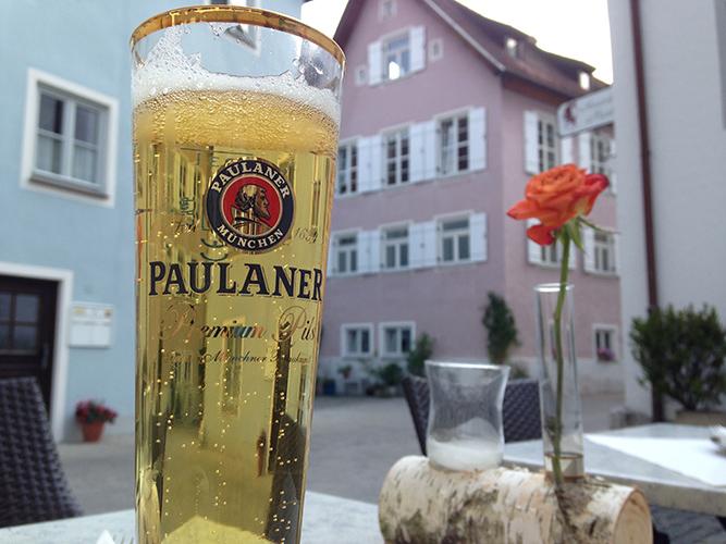 No water breaks in Germany, just beer breaks....side effect may include intense leg cramps